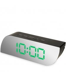 ЯЛ-07-10/1 Часы электронные зеркальные мал.  зеленая подсветка