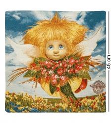 ANG-575 Наволочка гобеленовая  Ангел обаяния  45х45
