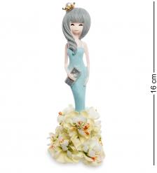 MN-109/4 Фигурка  Девочка в платье из цветов