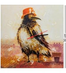 ANG-596 Часы  Важная птица  30х30