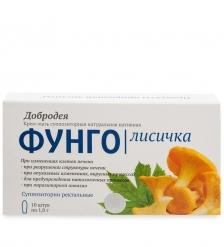 MED-03/16 «Добродея» Фунго Лисичка - Крем-мазь натуральная нативная