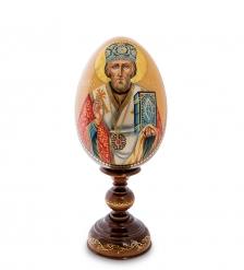 ИКО-51 Яйцо-икона  Святой Николай Чудотворец  Рябов С.