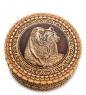 BST-401/ 9 Шкатулка  Медведь   береста  - Вариант A