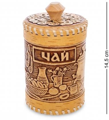 BST-316/ 2 Туесок  Чай  ср.  береста