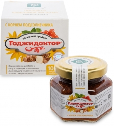MED-08/13 «Годжидоктор» Экстракт плодово-ягодный с корнем подсолнечника, 100 г