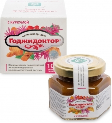MED-08/15 Годжидоктор Экстракт плодово-ягодный с куркумой, 100 г