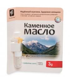 MED-13/13 «Каменное масло» с пантами алтайского марала, 3,0 г