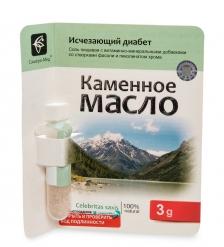 MED-13/16 «Каменное масло» с фасолью и пиколинатом хрома. Исчезающий диабет, 3,0 г