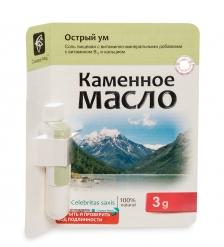 MED-13/17 «Каменное масло» с витамином B13 и кальцием. Острый ум. 3,0 г
