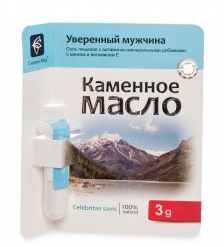 MED-13/18 «Каменное масло» с цинком и витамином Е. Уверенный мужчина, 3,0 г