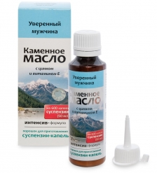 MED-13/25 «Каменное масло» Суспензия - капли с цинком и витамином Е. Уверенный мужчина, 3,0 г