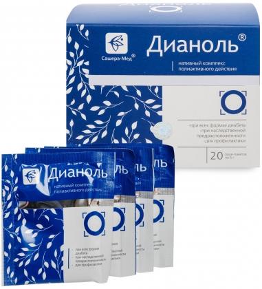MED-34/01 «Дианоль» Нативный комплекс полиактивного действия, №20*5 г