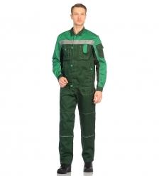 ЯЛ-02-06 Костюм куртка/полукомб. р.44-46, рост 170-176, зелёный