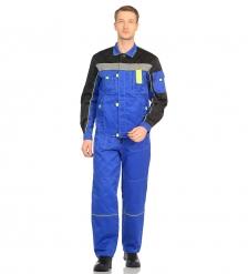 ЯЛ-02-08 Костюм куртка/полукомб. р.52-54, рост 182-188, светло-синий