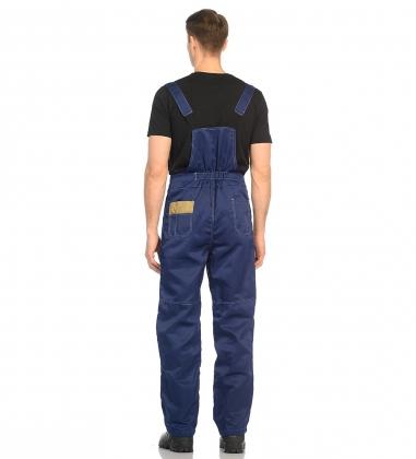 ЯЛ-02-09 Костюм куртка/полукомб. р.44-46, рост 182-188, темно-синий