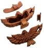 61-017 Шкатулка с секретом «Орел»