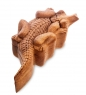 61-018 Шкатулка с секретом «Крокодил»