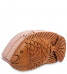 61-019 Шкатулка с секретом  Рыба