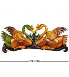 32-019 Панно  Пара лебедей   о.Бали