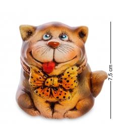 АБ-07 Фигурка керамическая  Кот с бантом