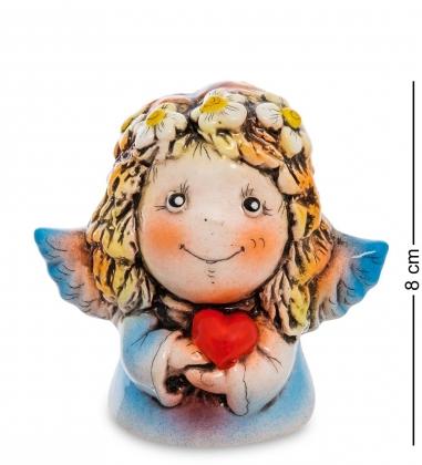 АБ- 23 Фигурка керамическая Ангел с сердцем