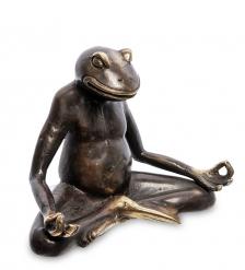 24-104-01 Фигура  Лягушка  бронза  о.Бали