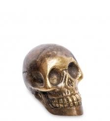 24-106 Фигура  Череп  бронза  о.Бали