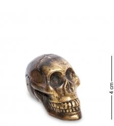 24-107 Фигура  Череп  бронза  о.Бали