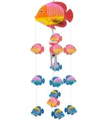 63-028-01 Музыка ветра «Рыбы»  о.Бали