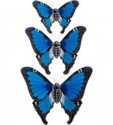 63-029-01 Панно  Трио бабочек   о.Бали