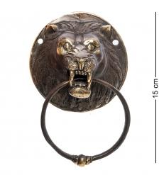 24-131 Дверной молоток  Лев  бронза  о.Бали