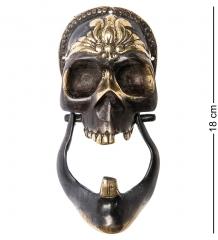 24-133 Дверной молоток Череп бронза  о.Бали