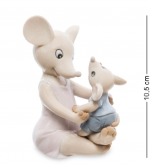 JP-121/ 9 Фигурка  Мышь с малышом   Pavone