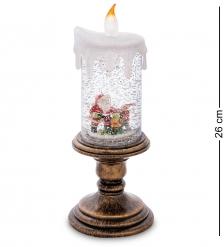 XM-825 Новогодняя свеча с подсветкой