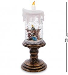 XM-827 Новогодняя свеча с подсветкой