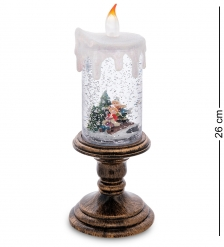 XM-828 Новогодняя свеча с подсветкой