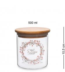 GS-13/1 Банка для сыпучих Цветочное очарование 500мл