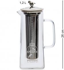 GS-30/1 Кофейник Попугайчики  1,2л