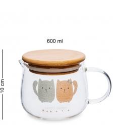 GS-37/1 Чайник заварочный «Зверюшки» 600мл