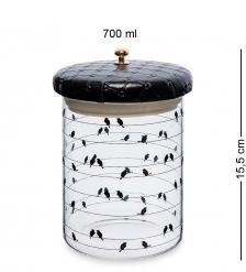 GS-57/1 Банка для сыпучих «Птичий ансамбль» 700мл