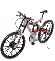 VL-04/ 1 Фигурка-модель 1:10 Велосипед горный Mountain Bike красный