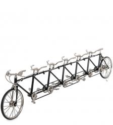 VL-13 Фигурка-модель 1:10 Велосипед 6-местный Tandem