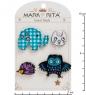 MR- 94 Н-р брошей с цанговым зажимом бабочка  В мире животных  Mark Rita