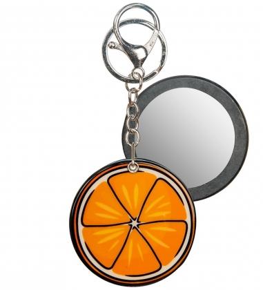 MR-163 Брелок с зеркальцем Апельсин Mark Rita
