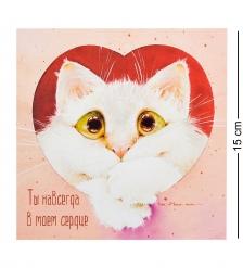 ANG-674 Открытка  Ты навсегда в моем сердце  15х15
