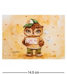 SZ-131 Почтовая открытка  I love you