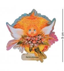 ANG-724 Магнит деревянный  Ангел обаяния