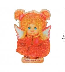 ANG-725 Магнит деревянный  Мечтательный ангел