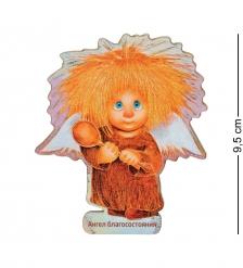 ANG-726 Магнит деревянный  Ангел благосостояния