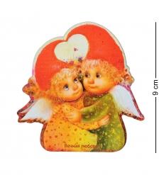 ANG-729 Магнит деревянный  Вечная любовь